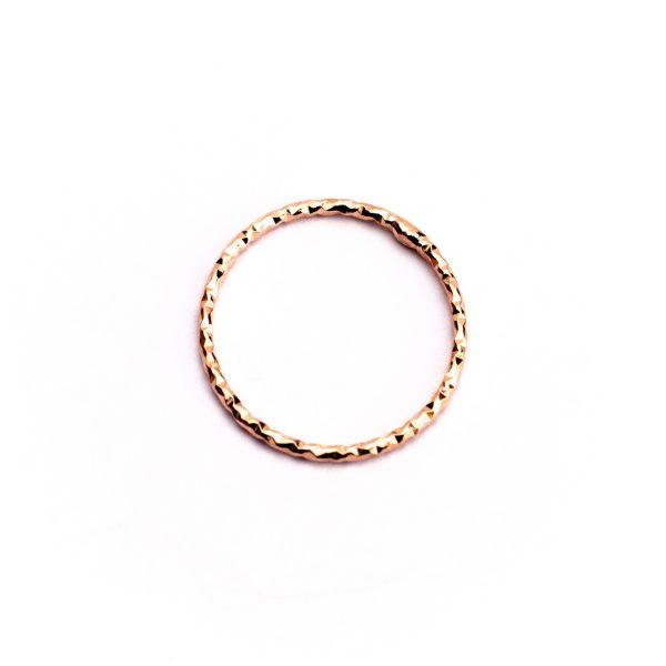 Pendente HAPPY Circle 1,5Cm Rosé
