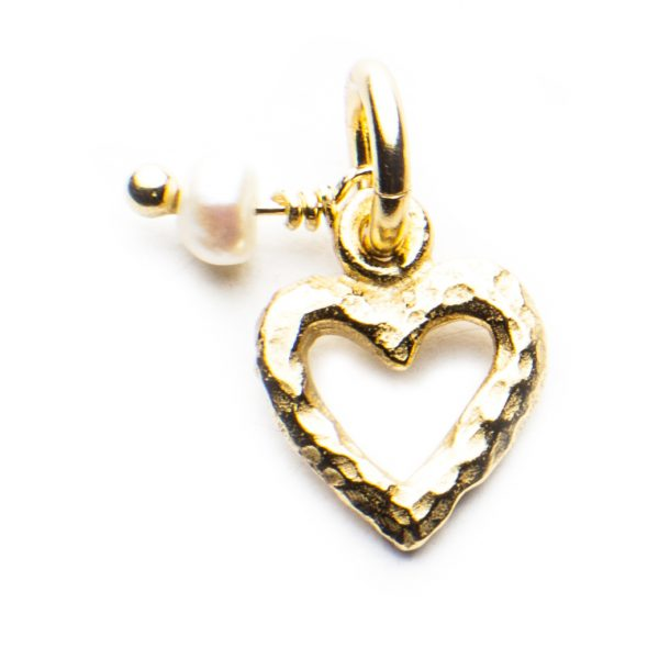 Little Pearl Charm Heart