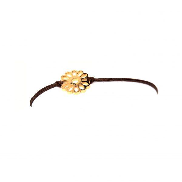 Pulseira Dourada de Aço Sunbloom